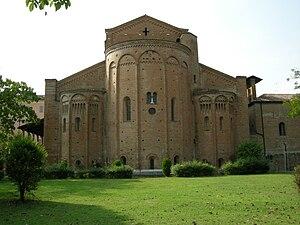 Nonantola - East end of Nonantola abbey