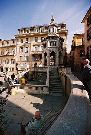 Acqui Terme - La Bollente spring.