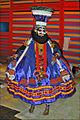 Acteur de Kathakali avant la représentation (Paris) (6954070142).jpg