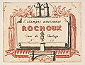Address-card of the printseller, Rochoux MET DP813222.jpg
