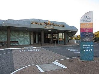 Adelaide Parklands Terminal - Image: Adelaide Parklands Terminal