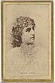 Adelaide Neilson, from the Actresses and Celebrities series (N60, Type 2) promoting Little Beauties Cigarettes for Allen & Ginter brand tobacco products MET DP839490.jpg