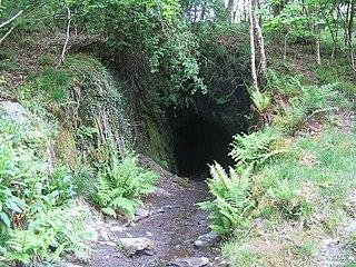 Dolgoch quarry, Gwynedd Disused slate quarry in Mid Wales
