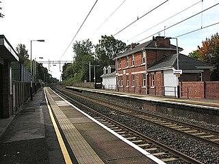 Adlington railway station (Cheshire)