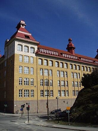 Adolf Fredrik's Music School - Main building of City campus (built 1907–10)