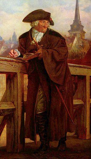 Daniel Chodowiecki - Portrait of Daniel Chodowiecki, painted posthumously by Adolph von Menzel in 1859