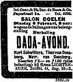 Advertisement Dada Avond Rotterdam 1923-02-06.jpg