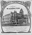 Advertisement for the opening of the Washington Hotel, ca 1901-1903 (SEATTLE 3924).jpg