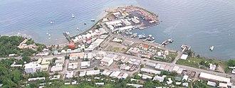 Point Cruz - Aerial of Point Cruz