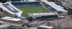 Twickenham Stoop - Image: Aerial view of the Stoop