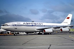 Aeroflot Ilyushin Il-86 at Paris Air Show 1981.jpg