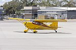Aeronca 11AC Chief (VH-IDH) taxiing at Wagga Wagga Airport.jpg