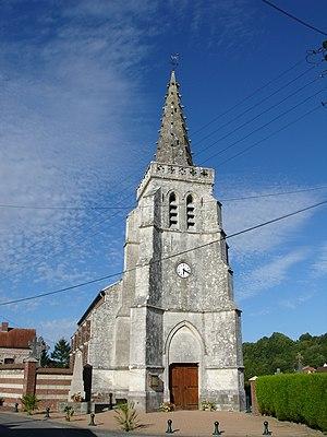Affringues - The church of Affringues