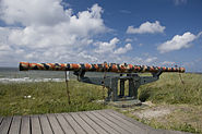 Afstandsmeter Openluchtmuseum Atlantikwall