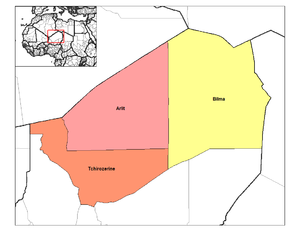 Departments of Niger - Departments of Agadez