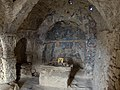 Agios Andreas, frescos and interior, Naxos, 12th c, 11H2454.jpg
