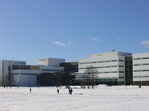 Agora Center - Agora in winter