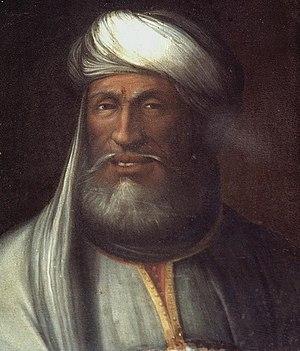 "Ahmad al-Araj - Portrait of Ahmad al-Araj (""Ahmed Sherif, King of Mauritania"") by C. dell'Altissimo"