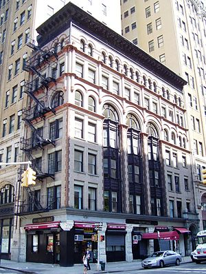 Ahrens Building - Image: Ahrens Building 70 Lafayette Street