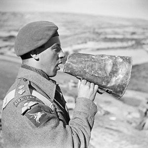 1st Airlanding Light Regiment - Airborne artillery Gun Position Officer, Italy 1943