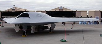 Boeing X-45 - X-45C from the side