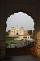 Alamgiri Gate, Lahore Fort through a Mehrab.jpg