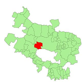 Iruña de Oca/Iruña Oka - Image: Alava municipalities Iruña