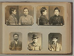Album of Paris Crime Scenes - Attributed to Alphonse Bertillon. DP263712.jpg