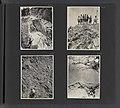 Albumblad met vier fotos. Linksbove het beklimmen van rotsen Zweden. Rechts, Bestanddeelnr 31 29.jpg