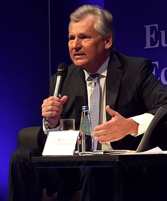 Aleksander Kwaśniewski - Aleksander Kwaśniewski during the 2013 European Economic Forum