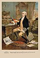 Alexander Hamilton making the first draft of the Constitution for the United States 1787.jpg