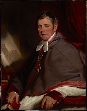 Alexander Macdonell (bishop) - The Most Reverend Alexander MacDonell, 1823-24, by Martin Archer Shee