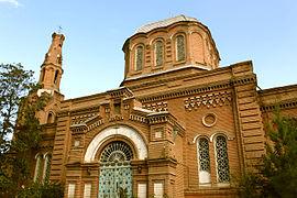Alexander Nevsky church in Ganja