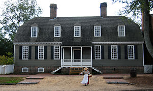 Alexander Purdie (publisher) - Alexander Purdie house reconstructed