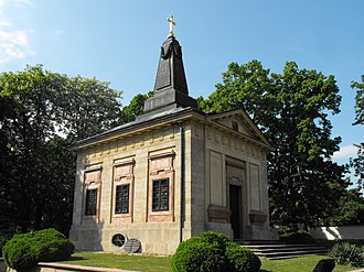 Grand Duchess Alexandra Pavlovna of Russia - Chapel of Grand Duchess Alexandra Pavlovna in Üröm, Pest.