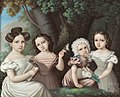 Alexandra Iosifovna with her three sisters.jpg
