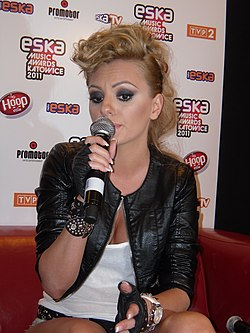 Alexandra Stan during Eska Music Awards 2011 in Katowice (2).jpg