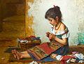 Alexei Harlamov - The Little Seamstress.jpg