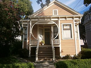 National Register of Historic Places listings in Sacramento County, California - Image: Alkali Flat West Historic District