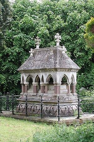 Thomas Earp (sculptor) - Horton family mausoleum at Middleton Cheney, Northamptonshire