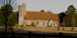 All Saints Church, West Farleigh.JPG