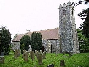 Worlingham - Image: All Saints Parish Church, Worlingham geograph.org.uk 550559