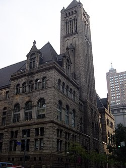 Henry Hobson Richardson's Allegheny County Courthouse