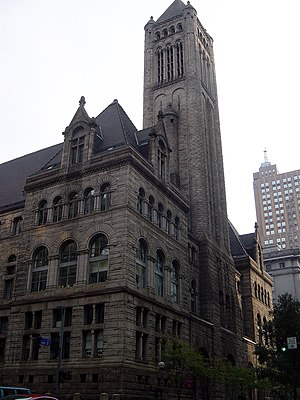 Allegheny County, Pennsylvania - The Allegheny County Courthouse