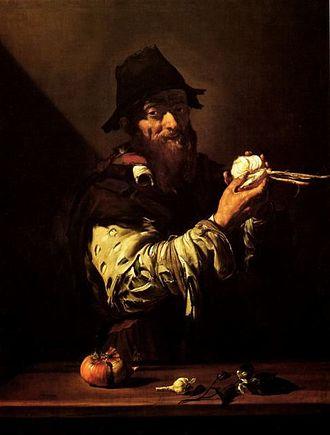 The Five Senses (Ribera) - Image: Allegory of Smell Jose de Ribera