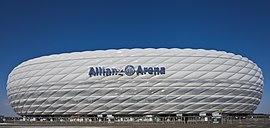 Стадион мюнхенской баварии