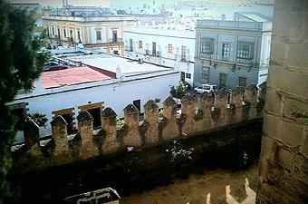 Almenas del Castillo de San Marcos. 01.jpg