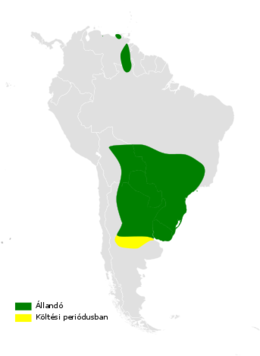 Alopochelidon fucata distribution map.png