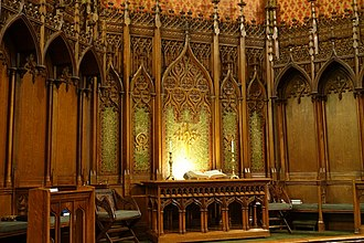 Church of the Covenant (Boston) - Image: Altar Church of the Covenant (Boston) DSC08161