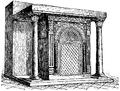 Altare i baptisteriet San Giovanni in fonte, Nordisk familjebok.png